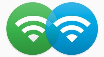 logo red wifi